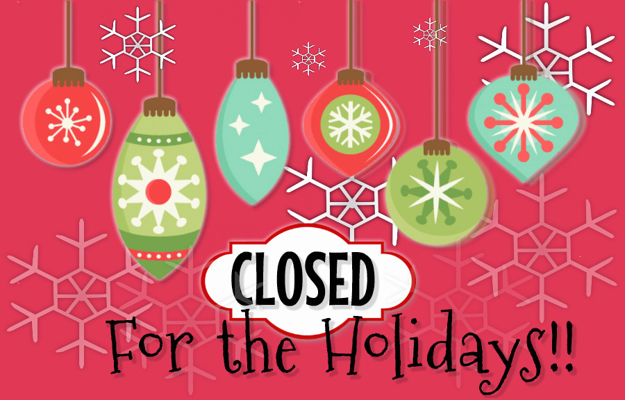 Image result for library closed for the holidays