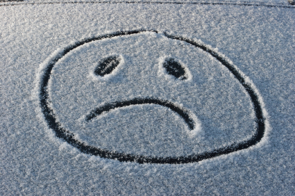Image result for sad person in snow