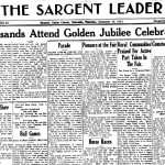 Sargent Newspaper Archives